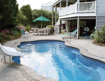 Viking Pools - Laguna - Hutchison Fiberglass Pools and Spas