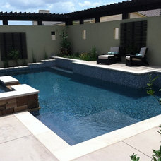 Contemporary Pool by Green Republic Design Group