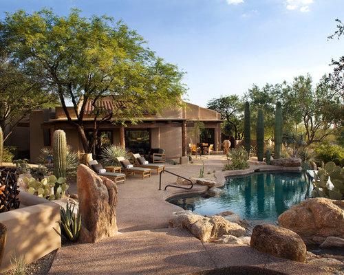 Cactus garden ideas home design ideas pictures remodel and decor - Backyard Desert Landscaping Home Design Ideas Pictures