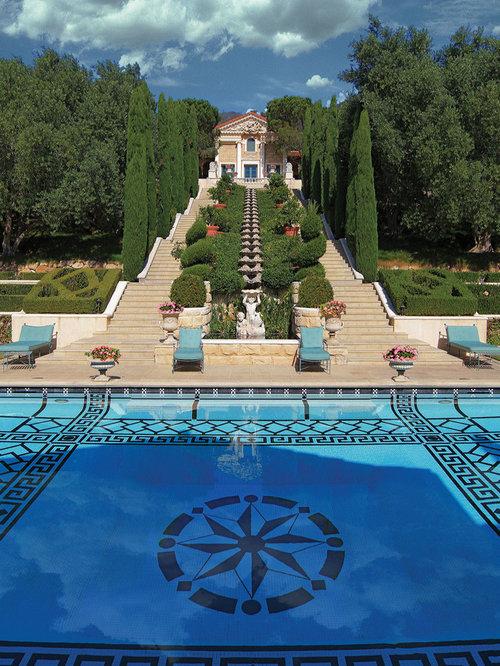 Best Pool Tile Trim Design Ideas & Remodel Pictures | Houzz