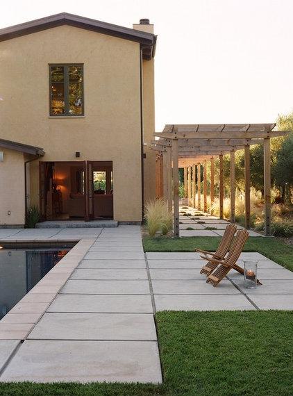 Mediterranean Pool by chadbourne + doss architects