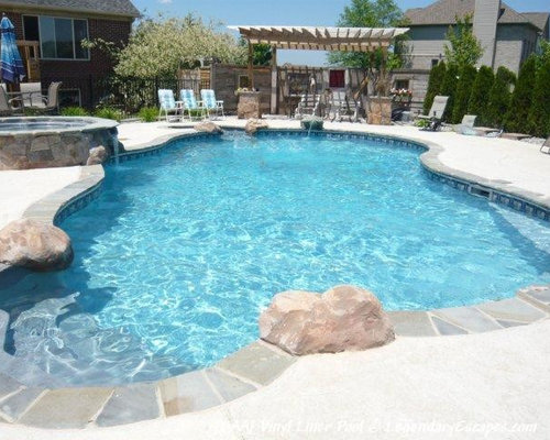 vinyl liner pool photos