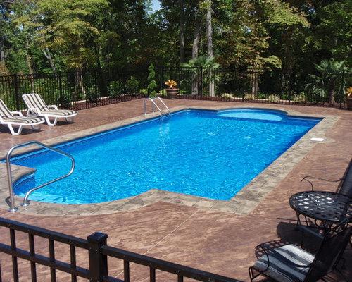 Geometric Pool Designs backyard amenities can create natural looking pool shapes or geometric pool designs Saveemail Innovative Pool Designs