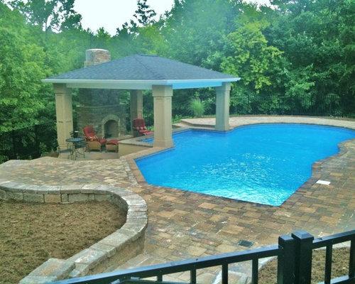 Geometric Pool Design | Houzz