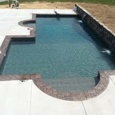 Contemporary Pool by Innovative Pool Designs