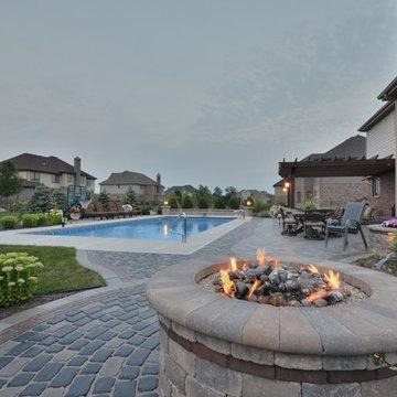 Vistana House with Pool, Pergola, Paver Patio, Fire Pit