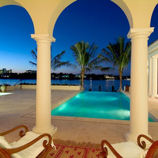 Tropical Pool by Perrone Construction