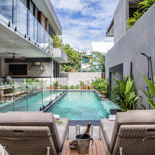 Design ideas for a tropical pool in Cairns.