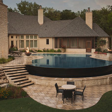 Contemporary Pool by Watershapes by Wallace