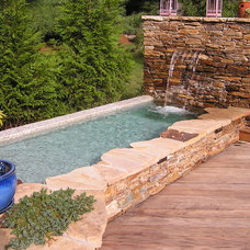 Eclectic Pool by Urban Gardens Inc.