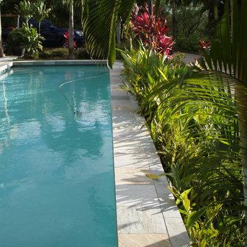 Wailea pool and spa