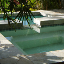 Asian Pool by BY DESIGN Builders