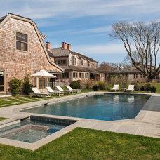 Beach Style Pool by Sandvold Blanda Architecture + Interiors LLC