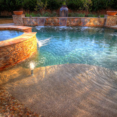 mediterranean pool by Absolutely Outdoors