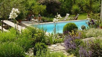 Wasser- Elemente des Gartens