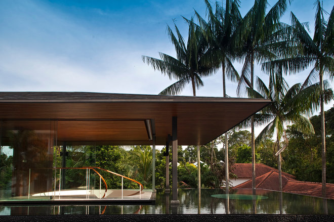 Contemporary Pool by Wallflower Architecture + Design