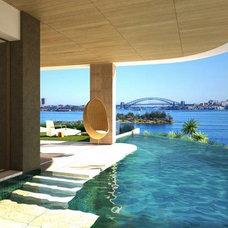 Contemporary Pool by Porebski Architects