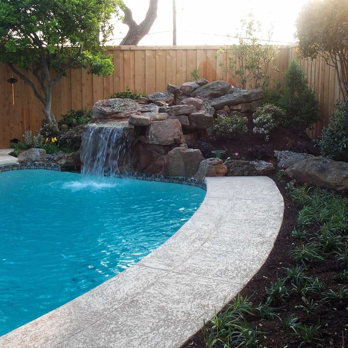 Water Feature & Pool Deck Resurface