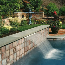 Traditional Pool by Morell Landscape Associates