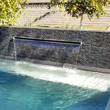 Craftsman Pool by Goodman Fabrications / Bluflame - Fire / Water