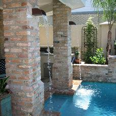Modern Pool by Ferris Land Design - Richard Hymel, ASLA