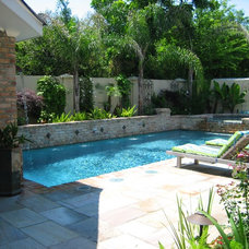 Modern Pool by Ferris Land Design - Richard Hymel, ASLA