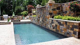 Waterfall & Pool Landscape Design