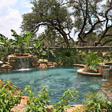 Tropical Pool by Keith Zars Pools