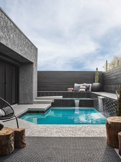 Modern Pools by Anthony W Design & Local Trade