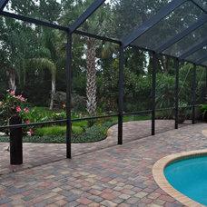 Tropical Pool by Schatz Landscape Design