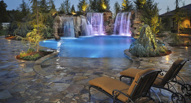 Oklahoma city landscape architects designers - Swimming pool contractors oklahoma city ...