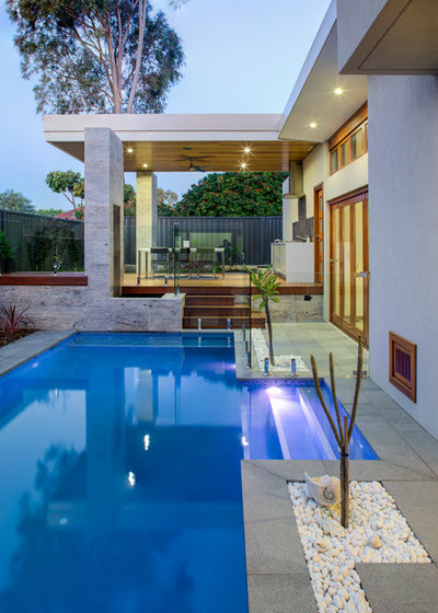 Contemporary Pool by Inspire Your Space
