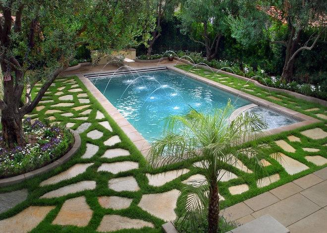 Mediterranean Pool by Matthew McKelligon Design