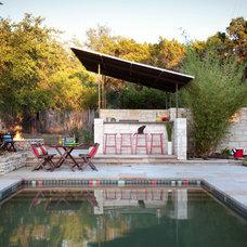 Midcentury Pool by B. Jane Gardens