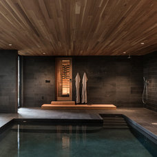 Contemporary Pool by FIELDWORK Design & Architecture