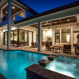 West Indies waterfront home