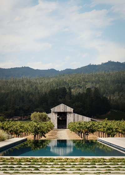Farmhouse Pool by Grassi & Associates