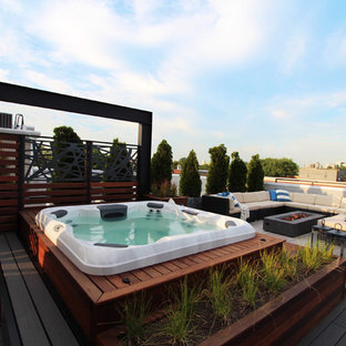 West Side (4th) Story Rooftop Deck