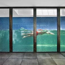 Modern Pool by Revamp Interior Design
