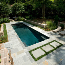 Traditional Pool by Master Pools by Artistic Pools Inc.