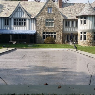 Westchester estate gunite pool and spa
