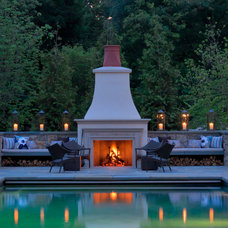 traditional pool by Katherine Field and Associates
