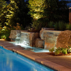 Transitional Pool by The Landmark Group
