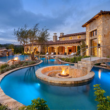 Mediterranean Pool by Liggatt Development, Inc