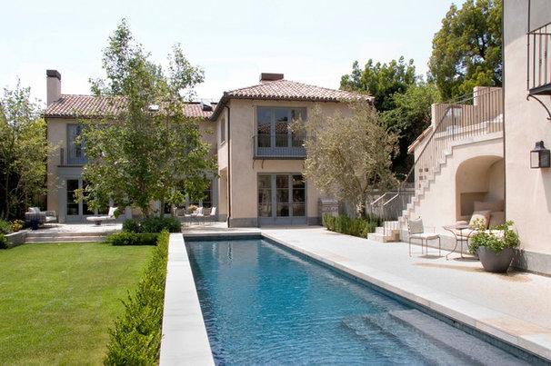 Mediterranean Pool by Studio William Hefner