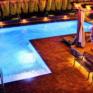 Esempio di una piscina