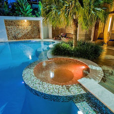 Tropical Pool by Majestic Pools & Landscapes