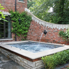 Traditional Landscape by Rosebrook Pools, Inc.