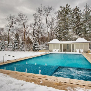 Winnetka, IL Swimming Pool, Hot Tub, and Water Features