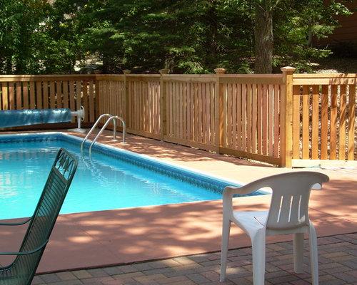 custom pool fencing photos